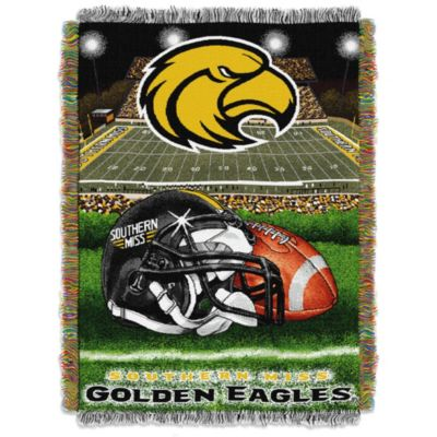 University of Southern Mississippi Tapestry Throw Blanket