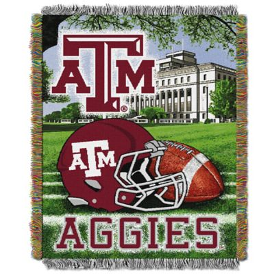 Texas A&M University Tapestry Throw Blanket