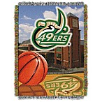 University of North Carolina Charlotte 48-Inch x 60-Inch Tapestry Throw Blanket