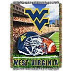 West Virginia University 48-Inch x 60-Inch Tapestry Throw Blanket