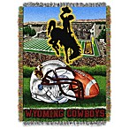 University of Wyoming 48-Inch x 60-Inch Tapestry Throw Blanket