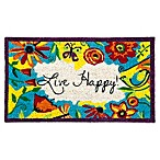 Live Happy Coir Doormat
