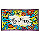 Live Happy Coir Door Mat