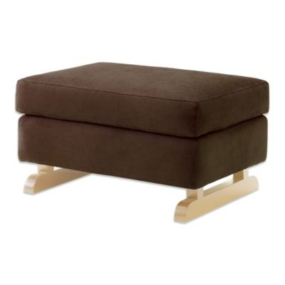 Nursery Works Perch Stool in Mocha with Light Legs