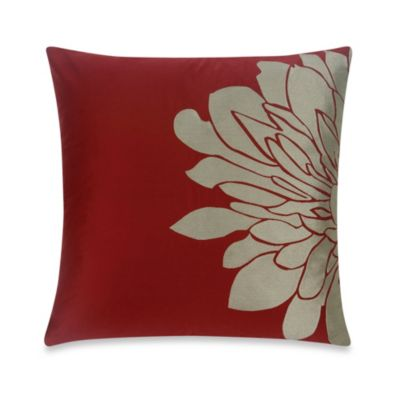 Blissliving® Home Gemini Square Toss Pillow in Red