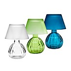 Glass Votive T-Light Lamp with Shade