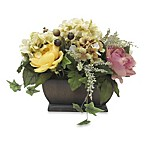 Rose and Hydrangea Small Mixed Decorative Floral Arrangement