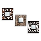Animal Kingdom 3-Piece Mirror Set