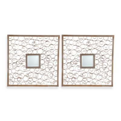 Aqua 2-Piece Mirror Set
