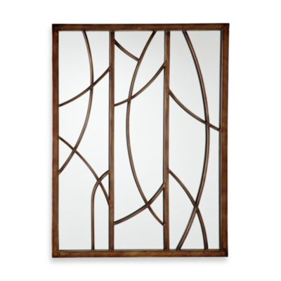 Reeds Decorative Mirror