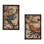 Southern Enterprises Chirp 2-Piece Wall Panel Set