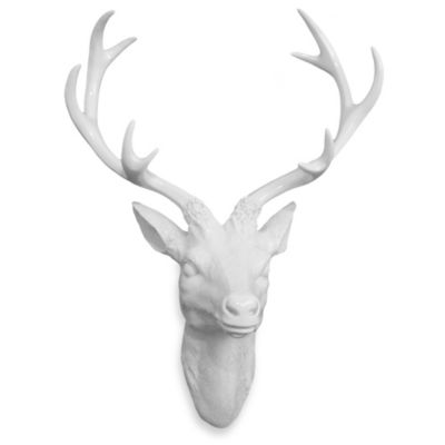 Resin Deer Head Wall Art