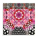 Feathers by Echo Box Wall Art in Fuchsia