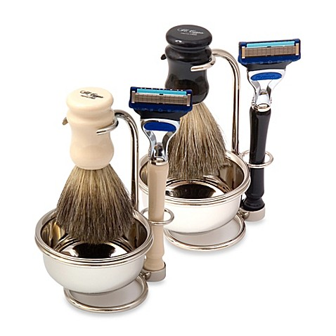 Men 39 s il ceppo 4 piece shaving sets bed bath beyond for Mens bath set