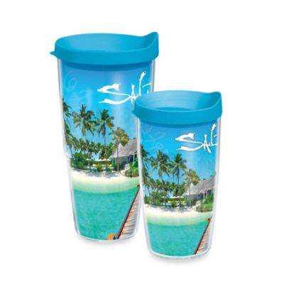 Tropical Plastic Tumblers