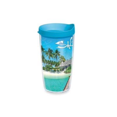 Tropical Plastic Tumblers