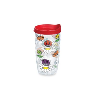 Cartoon Lady Bug Wrap Tumbler