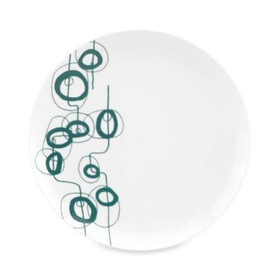 Dansk® Lotta Shake 10.5-Inch Dinner Plate in Teal