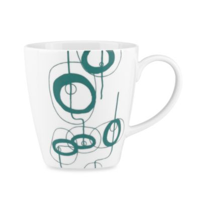 Dansk® Lotta Shake 16-Ounce Mug in Teal
