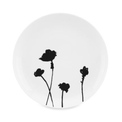 Dansk® Lotta Stilla 8-Inch Salad Plate in Black