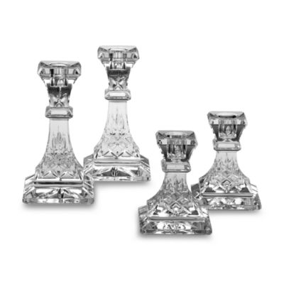 Lismore Crystal 6-Inch Candlestick (Set of 2)