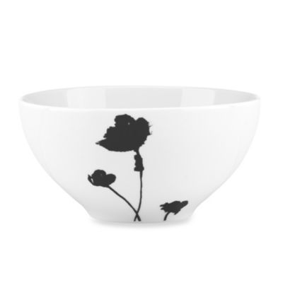 Dansk® Lotta Stilla 24-Ounce All-Purpose Bowl in Black