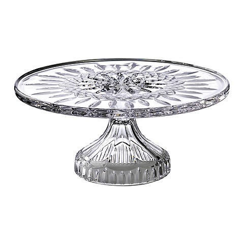 Waterford® Lismore Crystal 11-Inch Footed Cake Plate