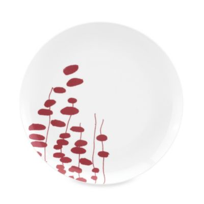 Dansk Lotta Wisp 10.5-Inch Dinner Plate in Raspberry