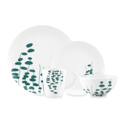 Dansk® Lotta Wisp 4-Piece Place Setting in Teal