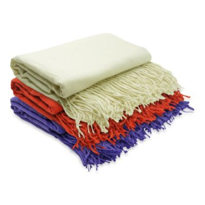 PUR Cashmere On Throw