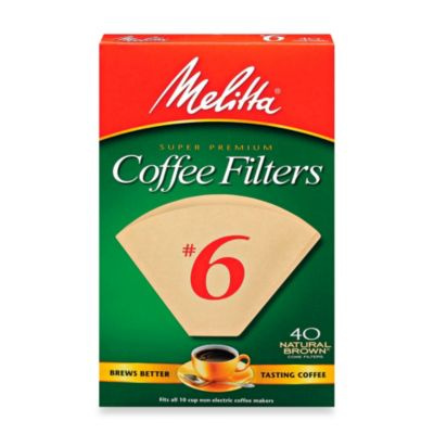 40-Count Number 6 Super Premium Coffee Filters
