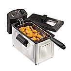 Hamilton Beach® Professional-Style 12-Cup Stainless Steel Deep Fryer