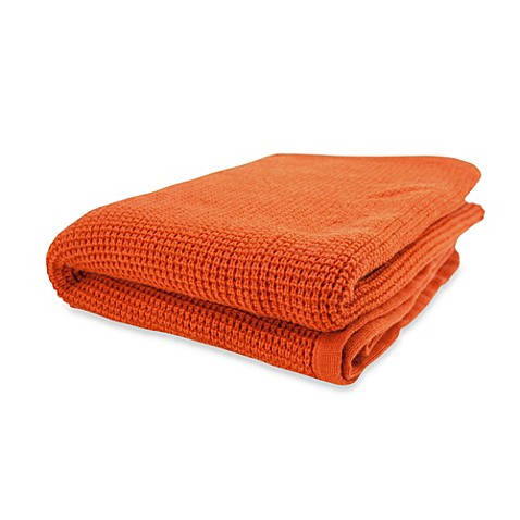 Buy Pur Cashmere Thermal Throw In Persimmon From Bed Bath