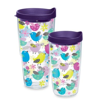 Tervis® 16-Ounce Whimsical Bird Wrap Design Tumbler with Lid