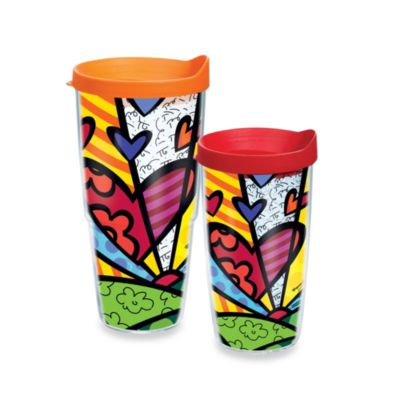 Tervis® Romero Britto Hearts 16-Ounce Tumbler with Lid