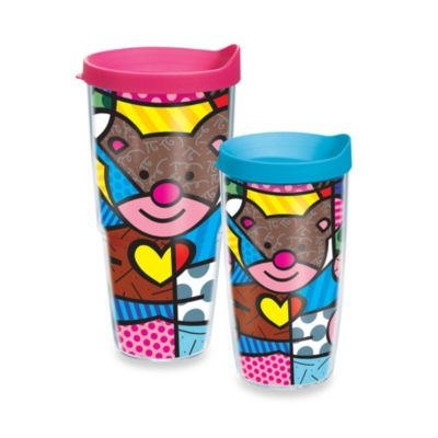 Tervis® Romero Britto Love Bear 16–Ounce Wrap Tumbler with Lid