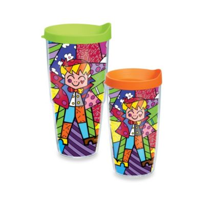 Tervis® Romero Britto The Hug 16–Ounce Wrap Tumbler with Lid