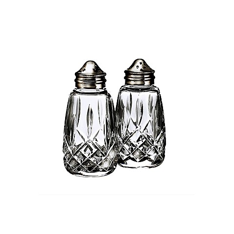 Waterford® Lismore Crystal Salt and Pepper Shakers
