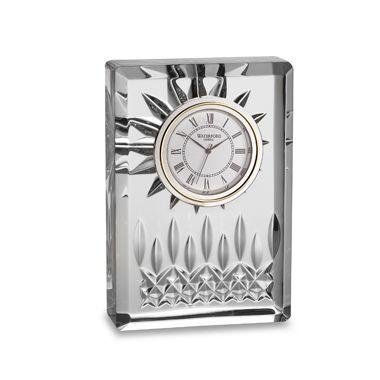 "Waterford Lismore Crystal 4 1/2"" H Clock"