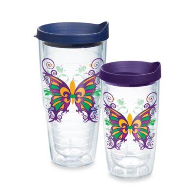 Tervis® Fleur de Lis Butterfly 24-Ounce Wrap Tumbler with Lid
