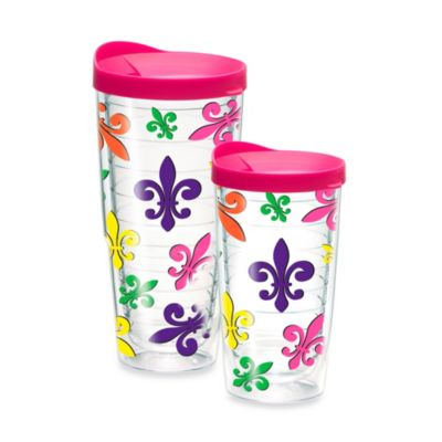 Tervis® Fleur de Lis Collage 16–Ounce Wrap Tumbler with Lid