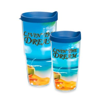 Tervis® Livin' the Dream 16–Ounce Wrap Tumbler with Lid