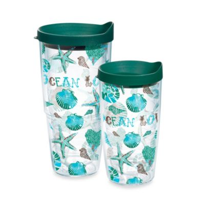 "Tervis® 16 Ounce ""Ocean Love"" Wrap Tumbler with Lid"