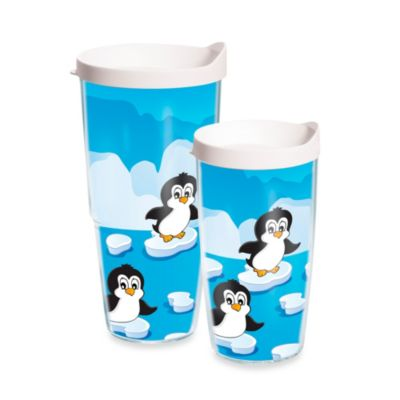 "Tervis® ""Penguin Party"" Wrap Tumbler with Lid"