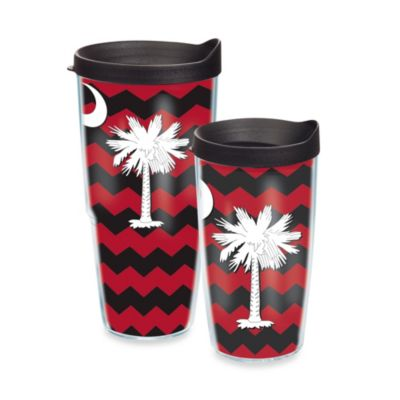 Tervis® Palmetto Moon Wrap 16-Ounce Tumbler with Lid in Black and Red
