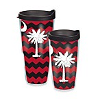 Tervis® Palmetto Moon Wrap Tumbler with Lid in Black and Red