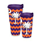 Tervis® Palmetto Moon Wrap Tumbler with Lid in Orange and Purple