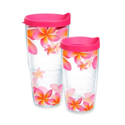 Tervis 24-Ounce Tumbler with Pink Lid