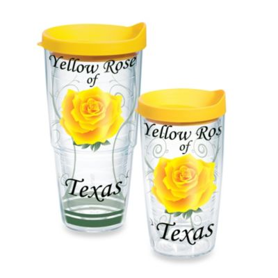 Tervis® Yellow Rose of Texas 16-Ounce Wrap Tumbler with Lid
