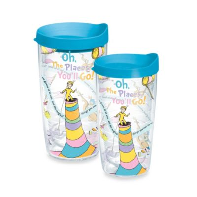 Tervis® 16-Ounce Dr. Seuss Oh! The Places You'll Go Wrap Tumbler with Lid
